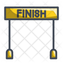 End Finish Line Icon