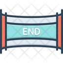 End Ending Conclusion Icon
