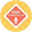 End Construction Warning Icon