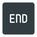 End Button Keyboard Icon