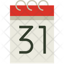 End Of Month Icon