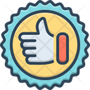 Endorsement Approval Support Icon