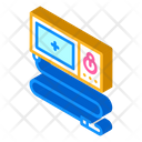 Endoscope Tool Isometric Icon