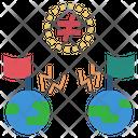Enemie Conflict War Icon