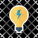 Energy Bulb Light Icon
