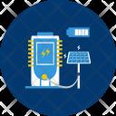Energy Electric Solar Icon