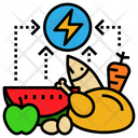 Energy Food Calorie Icon