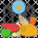 Energy Food Calorie Icon