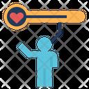 Energy Health Strength Icon