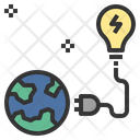 Energy Resource Power Icon