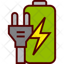 Energy Battery Plug Icon