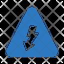 Energy Sign Arrow Icon