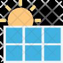 Energy Cell Solar Icon