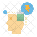 Energy Strong Think Icon