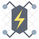 Energy Battery Technology Icon
