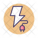Energy Power Plug Icon