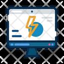 Website Energy Lightning Icon