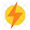 Energy Lightning Power Icon