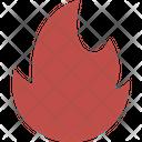Energy Fire Heat Icon