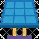 Energy Solar Panel Panels Icon
