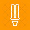Energy Saver Bulb Icon