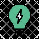 Energy Bulb Icon