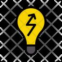 Energy Bulb Power Icon