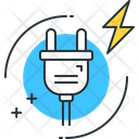 Energy Consumption Electricity Cable Icon