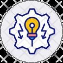 Energy Development Icon