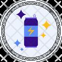Energy Drink Tin Pack Soda Tin Icon