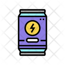 Energy Drink Color Icon