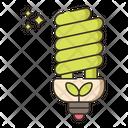 Energy Efficient Lighting Icon