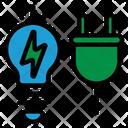 Energy Efficient Blub Energy Efficient Icon