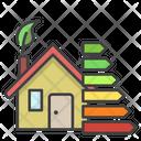 Energy Efficient House Icon