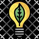 Energy Efficient Light Energy Saving Efficiency Icon
