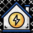 Energy House Icon