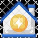 Energy House Energy Power Icon