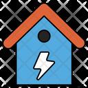 Energy House Energy Home Power House Icon