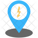 Energy Location Power Icon