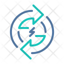 Cycles Circuit Electricity Icon