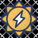 Energy Process Energy Gear Energy Setting Icon