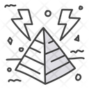 Energy Pyramid Icon