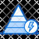 Energy Pyramid Icon