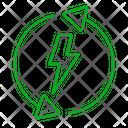 Electric Energy Power Icon
