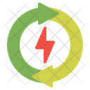 Energy Recycle Icon
