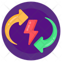 Energy Recycling Icon