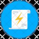 Energy Audit Power Audit Audit Report Icon