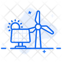 Electricity Resource Energy Resources Power Sources Icon