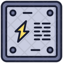 Energy Saver Electric Supply Power Storage Icon