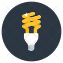 Bulb Electric Light Energy Saver Icon